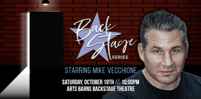 Edmonton Comedy Festival: Backstage Series starring Mike Vecchione
